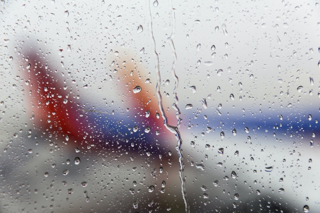 Wet airplanes