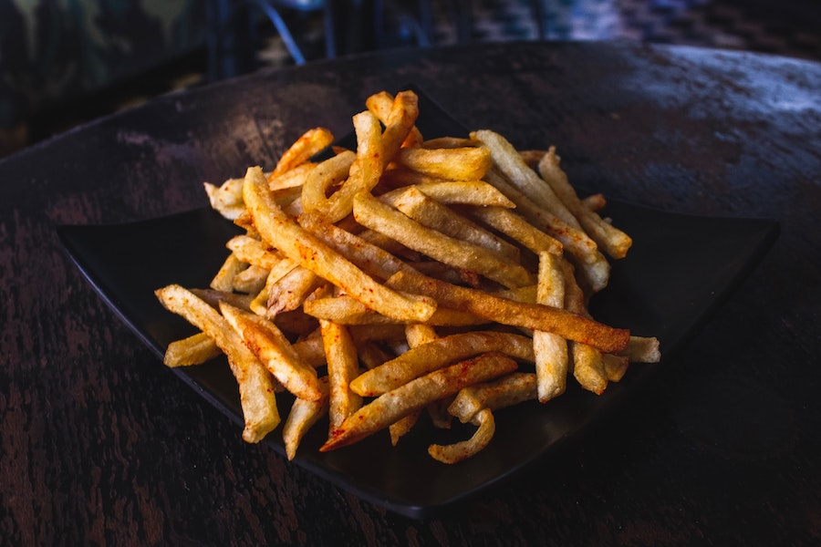 Image of french fries, food pilots should avoid